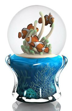 Snow Globes and Water Globes | twinkle-clown-fish-collectible-musical-snow-globe-water-globe.jpg