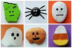 Craft It: Kid-Friendly Halloween Rock Paintings!