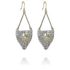 Art Deco Trapeze Earrings by chloe + isabel - Kim Carey Boutique  For purchase at: https://www.chloeandisabel.com/boutique/kimcarey/shop/collection/67005/estate-vintage-8e13996e-137f-4668-bfce-7bd6f1d12342