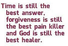 Time - Forgiveness - God
