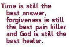 Time - Forgiveness - God
