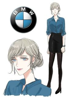 Different Car Brands Reimagined As Anime Characters Different Car Brands Reimagined As Anime Characters - More memes, funny videos and pics on Cartoon As Anime, 5 Anime, Chica Anime Manga, Anime Art, Manga Yuri, Cartoon Characters As Humans, Anime Version, Human Art, Human Human