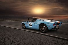 GT40 - in my favorite color scheme