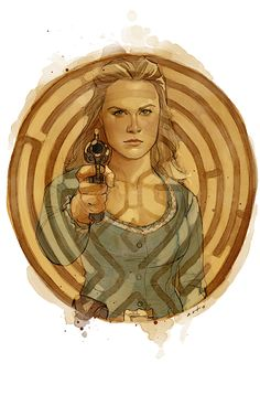 Westworld - Phil Noto - ''The Centre'' ----