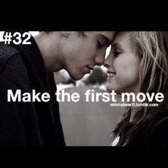 He said, I love you, first - I win! =)