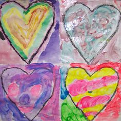 Welcome: Jim Dine Hearts have taken over the school!