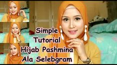 Hijab Tutorial Segi Empat, Simple, Youtube, Youtubers, Youtube Movies