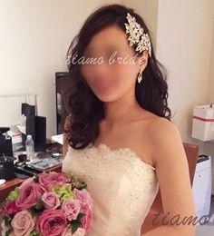 美人花嫁さまの大人フェミニンな3スタイル♡幸せホテル婚 | 大人可愛いブライダルヘアメイク 『tiamo』 の結婚カタログ