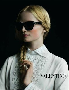 Beautiful with an edge - Valentino V670S ROCKSTUD Sunglasses http://eye-candy.co/collections/valentino-sunglasses/products/v670s-rockstud http://pict.com/p/CFQ