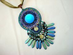 japanese bead, rhinestones chain, ultrasuede, O beads, lunasoft cabochon, Daggger beads, czech beads, fire polished glass beads - Beabead on etsy