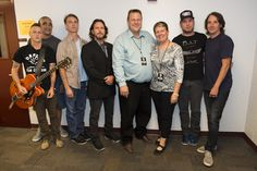 Jon & Sharla Tester meet Pearl Jam before the show.