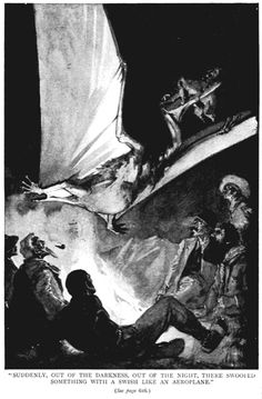 """In celebration of Sir Arthur Conan Doyle's birthday, have a look at these illustrations from the original serialization of his novel """"The Lost World."""""""
