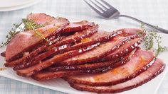 Riesling Peach Glazed Ham - Enjoy this peach and riesling wine flavored ham recipe – perfect for dinner.