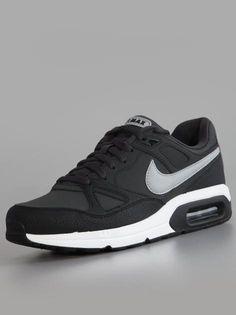 Nike Air Max Span Ltr Dark Charcoal Silver Black White #Nike #Airmax #Schuhe #Sneakers