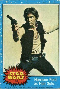 Star Wars bubblegum cards c. 1977
