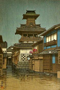 Kawase Hasui - Rain