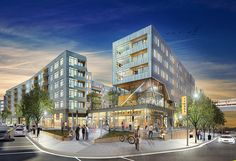 Tysons West | Architect Magazine | Hord Coplan Macht, Tysons Corner, VA, USA, Entertainment, Multifamily, Retail
