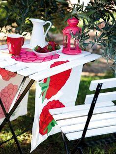 Un bufé muy apetecible en el jardín: #muebles de #exterior