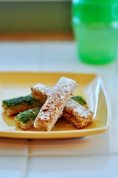 Little toast sticks for the monster. So easy, why didn't I think of this?