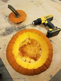 A Wonderful Thought| Clean a Pumpkin in 2 Minutes! | www.awonderfulthought.com
