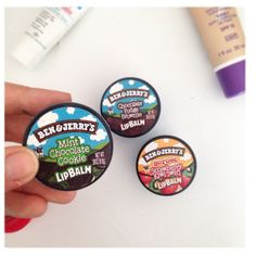 You can now get your Chocolate Chip Cookie Dough fix in the form of this Ben + Jerry's Lip Balm.