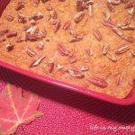 Just added my InLinkz link here: http://www.savvysouthernstyle.net/2014/09/wow-us-wednesdays-188.html Baked Pumpkin Oatmeal