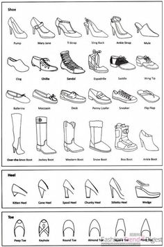 Fashion infographic: shoes Informations About 25 + › Mode-Infografik: Schuhe Pi Fashion Terminology, Fashion Terms, Trendy Fashion, Fashion Spring, Fashion Kids, White Fashion, Fashion Fashion, Types Of Fashion, Fashion 2018