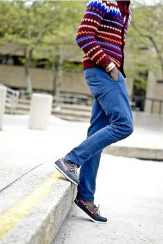 detailed look 51e11 14e14 Casual, Well Dressed Living Styles, Cool Sweaters, Colored Jeans, Well  Dressed Men