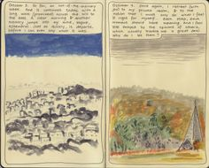 Moleskine Sketchbook Diary.  Copyright 2014 Nicky Nargesian