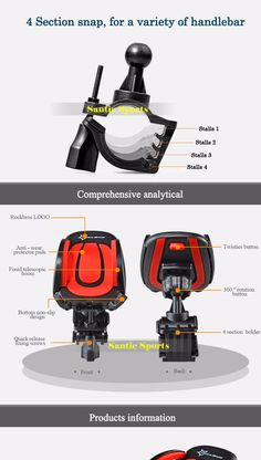 """MTB Road Bike Bags For 3.5""""-6.2"""" Cell Phone Holder Stand Support ABS Material Eagle Wings Bicycle Top Front Frame Handlebar Bags 