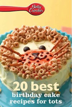 Bargain e-Cookbook: 20 Best Birthday Cake Recipes for Tots {99 cents!} #birthdays #cakes