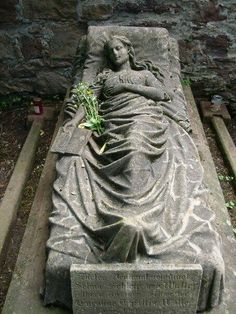 Hope Cemetery was the first munipical cemetery in the United States with graves older than the official graveyard itself. Cemetery Monuments, Cemetery Statues, Cemetery Headstones, Old Cemeteries, Cemetery Art, Angel Statues, Graveyards, Greek Statues, Buddha Statues