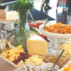 Artisan farm to table cheese display. (Gluten free version) #catering #collegestation #partygood #fooddisplay