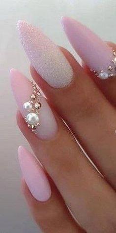 glam home accents #home #accents #homeaccents 29 Latest Acrylic Nail Designs Fr summer 2019 #acrylic #designs #latest #SchnheitInspiration #summer #AcrylicNailsGlitter Acrylic Nails Natural, Best Acrylic Nails, Summer Acrylic Nails, Nail Summer, Clear Acrylic, Classy Nails, Stylish Nails, Cute Nails, Pretty Nails