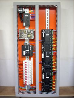 Electrical Circuit Diagram, Home Automation, Control Panel, Smart Home, Locker Storage, Houses, Board, Home Decor, Arduino Projects