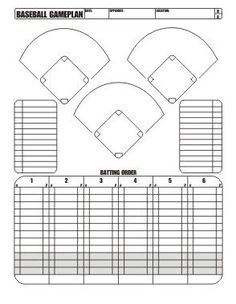 Softball lineup printable big red baseball softball and i manage a little league majors team the west valley orioles in leading a team of year olds on the baseball field i want to be as organized as possible pronofoot35fo Images