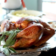 The Turkey roasted with cheesecloth is the only holiday turkey recipe you'll ever need. No basting, and it comes out perfect every time.