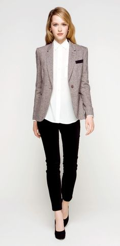 Judith & Charles - Paige Blouse and Zen Blazer
