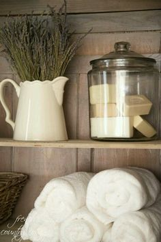 Love the jar with soap