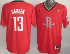 Houston Rockets #13 James Harden Revolution 30 Swingman 2013 Christmas Day Red Jersey