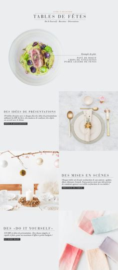 griottes.fr_tablefetes2 Web Design, Website Design Layout, Email Design, Layout Design, Work Inspiration, Graphic Design Inspiration, Book Posters, Newsletter Design, Landing Page Design