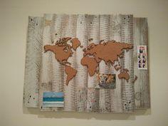 Mapa mundi con palets