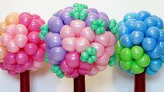 Цветочный шар дерево / Ball of flowers (Subtitles)