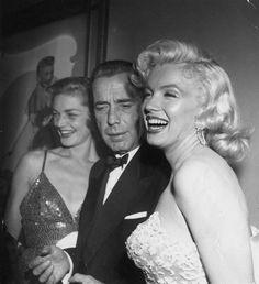 Earl Leaf, Marilyn Monroe, Humphrey Bogart, Lauren Bacall