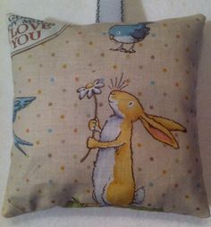 Easter Gift / Rabbit Gift / Bunny Rabbit Fabric Lavender Bag - Handmade in Home, Furniture & DIY, Home Decor, Other Home Decor | eBay