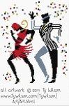 Cake Walk Deze serie van Ty Wilson, helemaal leuk! 97x148