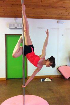 Elegant pole move