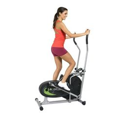 Elliptical Motion Trainer Fitness Workout Equipment Exercise Running Calorie Fan