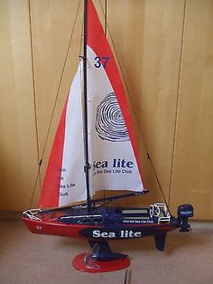 Sea lite model #sailing boat  #yacht radio #controlled,  View more on the LINK: 	http://www.zeppy.io/product/gb/2/322191384498/