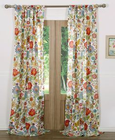Queen Size Curtain /& Window Treatments Yellow Bird Tree  Boho Drapes Kitchen Window Curtains Door Curtains 2 Panel Curtain Set